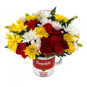 Teleflora's Campbell's Soup Mug  in Mount Pearl, NL | MOUNT PEARL FLORIST