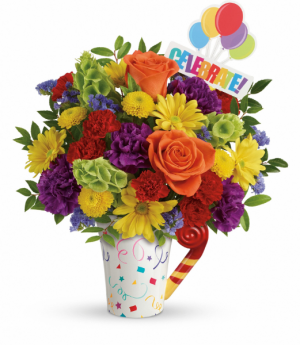 Teleflora's Celebrate You Bouquet  in Mount Pearl, NL | MOUNT PEARL FLORIST