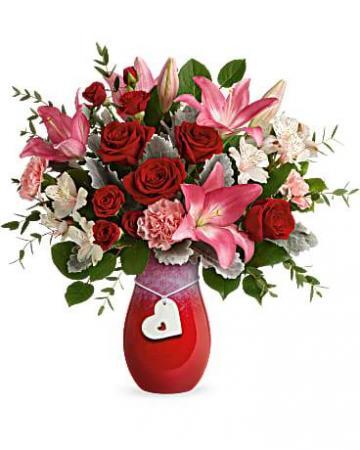Teleflora's Charmed in Love Bouquet Bouquet