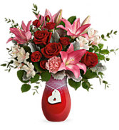 Teleflora's Charmed in Love T21V100B Bouquet
