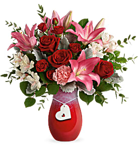 Teleflora's Charmed in Love T21V100B Bouquet in Moses Lake, WA | FLORAL OCCASIONS