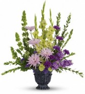 Teleflora's Cherished Memories Urn Arrangement