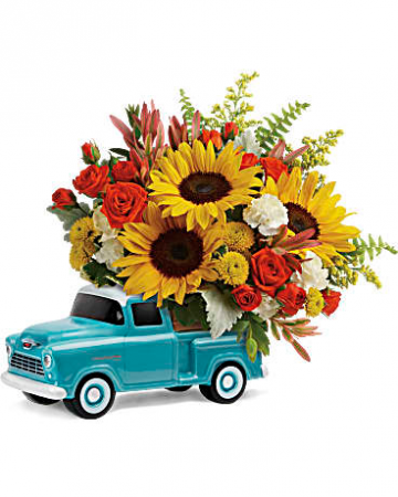 Teleflora's Chevy Pick up