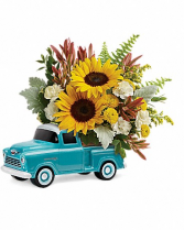 Teleflora's Chevy Pickup Bouquet