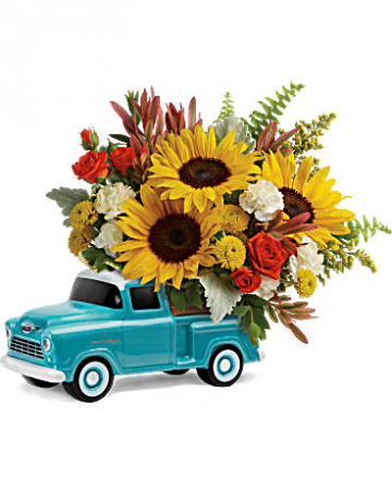 Teleflora's Chevy Pickup Bouquet All Occasions