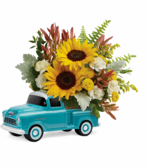 Teleflora's Chevy Pickup Bouquet T18F100A
