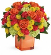 Teleflora's Citrus Smiles Bouquet