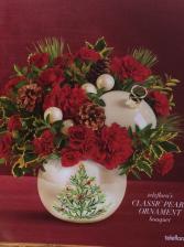 Teleflora's Classic Pearl Ornament  Christmas