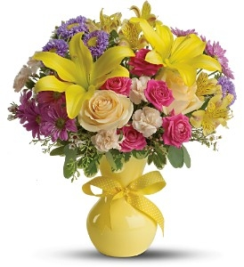 COLOR IT HAPPY Bouquet in Crosby, TX | Pleasing Petals Flower Shop
