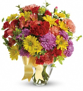 Teleflora's Color Me Yours Bouquet Fresh Mixed Flower Arrangement