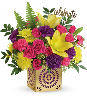 Teleflora's Colorful Celebration Bouquet  in Mount Pearl, NL | MOUNT PEARL FLORIST