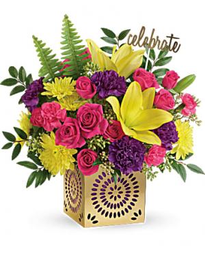 Colorful Celebration Bouquet  in Winnipeg, MB | KINGS FLORIST LTD
