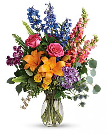Teleflora's Colors of the Rainbow Bouquet everyday