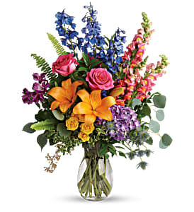 Teleflora's Colors of The Rainbow Bouquet Fresh Flowers