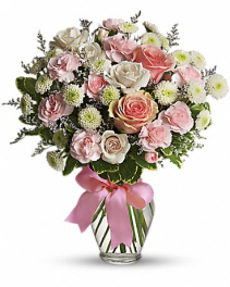 Teleflora's Cotton Candy Bouquet Arrangement