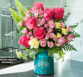 Teleflora's Country Beauty VASE ARRANGEMENT