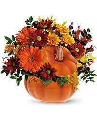 Teleflora's Country Pumpkin Arrangement