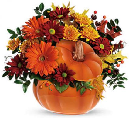 Teleflora's Country Pumpkin Bouquet