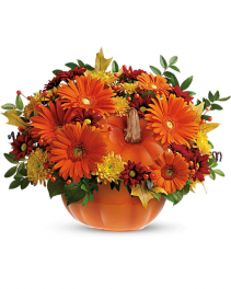 Teleflora's Country Pumpkin Thanksgiving