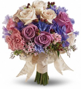 Teleflora's Country Rose Bouquet Wedding Bouquet