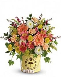 Teleflora's Country Spring Bouquet Fresh Arrangement