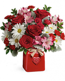 Teleflora's Country Sweetheart Bouquet Valentine's