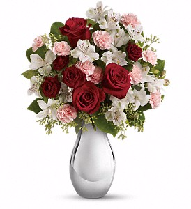 Teleflora's Crazy for You Bouquet  Romance in Valley City, OH | HILL HAVEN FLORIST & GREENHOUSE