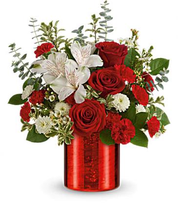 Teleflora's Crimson Crush Bouquet