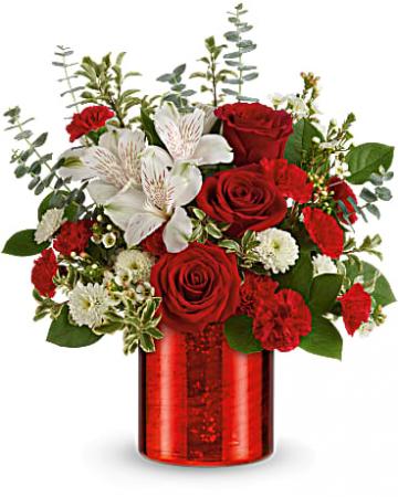 Teleflora's Crimson Crush Bouquet bouquet