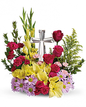 Teleflora's Crystal Cross Bouquet  in Edgewood, MD | ALWAYS GOLDIE'S FLORIST