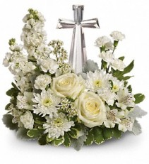 Teleflora's Crystal Cross Fresh Bouquet