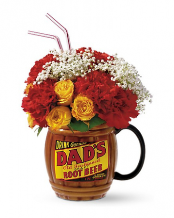 Telefloras Dads Root Beer Mug Father's Day