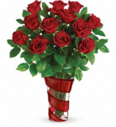 Teleflora's Dancing In Roses Bouquet  Roses