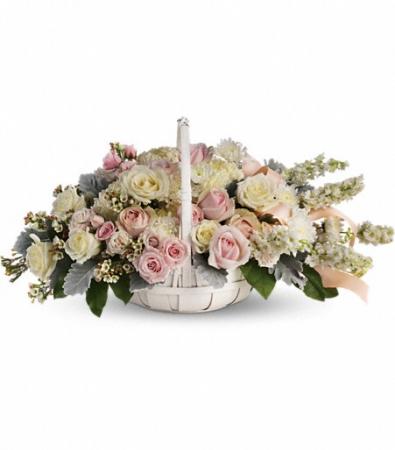 Teleflora's Dawn of Remembrance Fresh Floral Basket