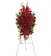 Teleflora's Deep in Our Hearts Fresh Funeral Arrangement