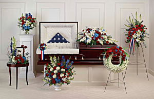 Distinguished Service Collection Sympathy in Lauderhill, FL   BLOSSOM STREET FLORIST