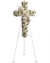Teleflora's Divine Light Standing Spray