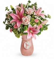 Teleflora's Elegance In Flight Bouquet Bouquet