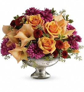 Teleflora's Elegant Traditions TFL04-3B Centerpiece in Moses Lake, WA | FLORAL OCCASIONS