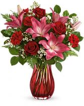 Teleflora's Enamored Elegance Bouquet