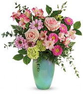 Teleflora's Enamored With Aqua Bouquet