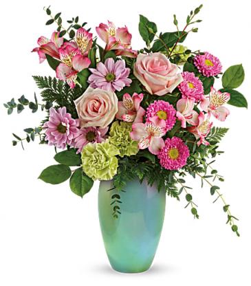 Teleflora's Enamored With Aqua Bouquet