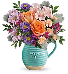 Teleflora's Busy Bee Bouquet Fresh Arrangement