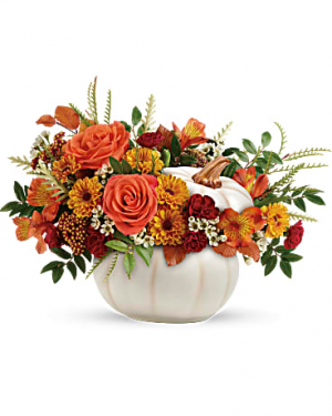 Teleflora's Enchanted Harvest Bouquet Fresh Arrangement in Whitehall, MI | WHITE LAKE GREENHOUSES FLORAL