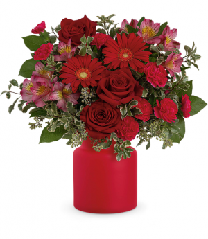 Teleflora's Enchanted Red  in Mount Pearl, NL | MOUNT PEARL FLORIST