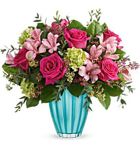 Teleflora's Enchanted Spring Bouquet Vase