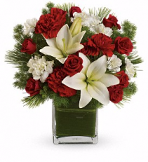 Teleflora's Enchanted Winter Bouquet Christmas