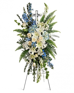 Teleflora's Eternal Grace Spray Standing spray in Auburndale, FL | The House of Flowers