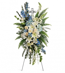 Teleflora's Eternal Grace Standing Spray
