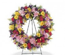 Teleflora's Eternity Wreath Wreath #12